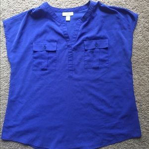 Jaclyn Smith blouse size large